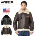 AVIREX アビレックス 2105 B-3フライトジャケット リアルムートン MADE IN USA ミリタリージャケット【キャンペーン対象外】