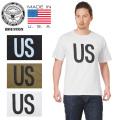 ☆サマークリアランスセール☆★キャンペーン対象外★HOUSTON ヒューストン 21357US 米国製 S/S プリント クルーネック Tシャツ US