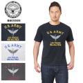 ☆まとめ割☆【ネコポス便対応】HOUSTON ヒューストン 21377 MILITARY プリント Tシャツ ARMY