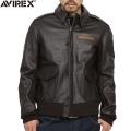【10月中旬入荷予定】AVIREX アビレックス 2191000 MADE IN USA(米国製) A-2レザーフライトジャケット アヴィレックス