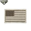 【キャンペーン対象外】【ネコポス便対応】CONDOR コンドル U.S. FLAG PATCH (ワッペン) DESERAT【T】