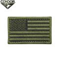 【キャンペーン対象外】【ネコポス便対応】CONDOR コンドル U.S. FLAG PATCH (ワッペン) OD【T】