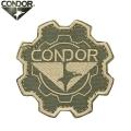 【キャンペーン対象外】【ネコポス便対応】CONDOR コンドル 243 GEAR PATCH (ワッペン) TAN