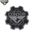 【キャンペーン対象外】【ネコポス便対応】CONDOR コンドル 243 GEAR PATCH (ワッペン) BLACK