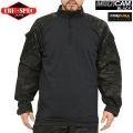 ★キャンペーン対象外★TRU-SPEC トゥルースペック 1/4 ZIP COMBAT シャツ MultiCam Black