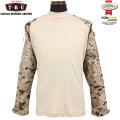 ★キャンペーン対象外★TRU-SPEC トゥルースペック Tactical Response Combat シャツ デザートデジタル