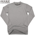 【キャンペーン対象外商品】C.A.B.CLOTHING J.G.S.D.F. 自衛隊 クルーネック長袖Tシャツ GRAY【2704】