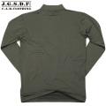 【キャンペーン対象外商品】C.A.B.CLOTHING J.G.S.D.F. 自衛隊 ハイネック長袖Tシャツ OD【2705】