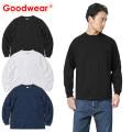 ☆15%OFF割引中☆【即日出荷対応】Goodwear グッドウェア 2W7-8518 L/S 四角ポケット Tシャツ