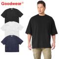 ☆15%OFF割引中☆【即日出荷対応】Goodwear グッドウェア 2W7-2501 S/S 四角ポケット Tシャツ SUPER BIG