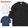 Goodwear グッドウェア 2W7-2509 USAコットン 7分袖 FOOTBALL Tシャツ
