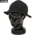 New York Hat ニューヨークハット 3095 CANVAS TENNIS HAT キャンバステニスハット BLACK