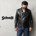Schott ショット 3101048 ダブル ブレスト ライダースジャケット【キャンペーン対象外】