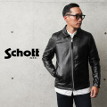 Schott ショット 3101054 シングル ブレスト ライダースジャケット【キャンペーン対象外】