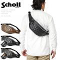 Schott ショット 3109023 パデッドレザーボディバッグ 【キャンペーン対象外】