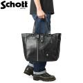 Schott ショット 3109062 LEATHER RIDERS TOTE BAG(レザー ライダース トートバッグ)【キャンペーン対象外】