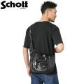 Schott ショット 3109063 LEATHER RIDERS SHOULDER BAG(レザー ライダース ショルダーバッグ)【キャンペーン対象外】