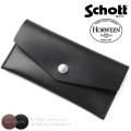 Schott ショット 3109066 HORWEEN CHROMEXCEL レザー イージー ロングウォレット【キャンペーン対象外】 革財布
