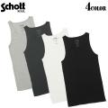 Schott ショット 3123059 T/C RIB リブ タンクトップ 4色