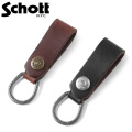 Schott ショット 3129008 レザーキーホルダー【Sx】 革