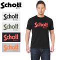 ☆ただいま20%OFF☆【ネコポス便対応】Schott ショット 3173032 BASIC LOGO Tシャツ
