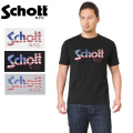 ☆15%OFFセール☆Schott ショット 3173033 US FLAG LOGO Tシャツ