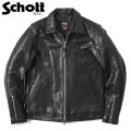 Schott ショット 3181076 シングルブレスト ライダースジャケット【キャンペーン対象外】