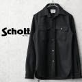 ☆大幅割引中!クリアランスバーゲン☆【即日出荷対応】Schott ショット 42583 C.P.O ウールシャツ MADE IN USA【キャンペーン対象外】
