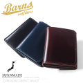 BARNS OUTFITTERS バーンズ アウトフィッターズ LE-4324 コードバン コンパクト ウォレット 日本製【Sx】 財布