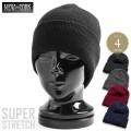 ☆まとめ割☆New York Hat ニューヨークハット SUPER STRETCH 4582 ニットキャップ 4色
