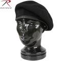 ☆まとめ割☆ROTHCO ロスコ INSPECTION READY WOOL ベレー帽 ブラック【4949】