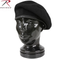 ☆20%OFF割引中☆ROTHCO ロスコ INSPECTION READY WOOL ベレー帽 ブラック【4949】