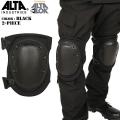 ALTA アルタ FLEX タクティカルニーパッド AltaLok BLACK【50413.00】【キャンペーン対象外】
