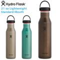 HydroFlask ハイドロフラスク 5089383 トレイルシリーズ 21oz ライトウエイト スタンダードマウス 保温ボトル【Sx】