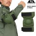 ALTA アルタ COTOUR エルボーパッド OliveGreen【53112.09】