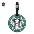 ☆20%OFFセール☆5IVE STAR GEAR ファイブスターギア 6672 GUNS AND COFFEE LUGGAGE TAG(パッチ ワッペン ベルクロ)