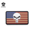 ☆15%OFFセール☆5IVE STAR GEAR ファイブスターギア 6722 VINTAGE FLAG PUNISHER MORALE PATCH(パッチ ワッペン ベルクロ)