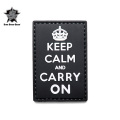 ☆20%OFFセール☆5IVE STAR GEAR ファイブスターギア 6767 KEEP CALM AND CARRY ON MORALE PATCH(パッチ ワッペン ベルクロ)