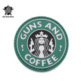 ☆20%OFFセール☆5IVE STAR GEAR ファイブスターギア 6786 GUNS AND COFFEE MORALE PATCH(パッチ ワッペン ベルクロ)