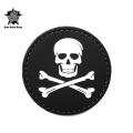 ☆20%OFFセール☆5IVE STAR GEAR ファイブスターギア 6788 JOLLY ROGER MORALE PATCH(パッチ ワッペン ベルクロ)