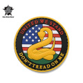 ☆15%OFFセール☆5IVE STAR GEAR ファイブスターギア 6794 DON'T TREAD ON ME MORALE PATCH(パッチ ワッペン ベルクロ)