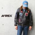 AVIREX アビレックス 6101063 ゴートスキンレザー G-1 フライトジャケット TOP GUN【キャンペーン対象外】 ミリタリーファッション