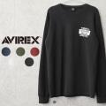 AVIREX アビレックス 6103539 ハニカムワッフル グラマラスグレニス 長袖Tシャツ【キャンペーン対象外】