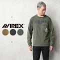 【即日出荷対応】AVIREX アビレックス 6103543 COMBINATION ARMY 長袖Tシャツ【キャンペーン対象外】 ミリタリーファッション【T】