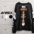 AVIREX アビレックス 6103558 SWITCHING VARSITY クルーネックスウェットシャツ【キャンペーン対象外】