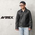 AVIREX アビレックス 6111044 シープスキン トラッカー レザージャケット【キャンペーン対象外】【T】ミリタリーファッション