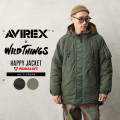【即日出荷対応】AVIREX×WILD THINGS 6112179 HAPPY JACKET ハッピージャケット【キャンペーン対象外】【T】