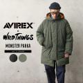 【即日出荷対応】AVIREX×WILD THINGS 6112180 MONSTER PARKA モンスターパーカー【キャンペーン対象外】【T】