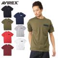 AVIREX アビレックス  6123036 FATIGUE クルーネックTシャツ ミリタリー アヴィレックス【キャンペーン対象外】