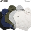 AVIREX アビレックス デイリーウェア 6133202 L/S プルオーバー スウェットパーカー5色 アヴィレックス